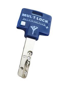 MUL-T-LOCK Interactive+ ※元鍵とセキュリティカードが必要です。