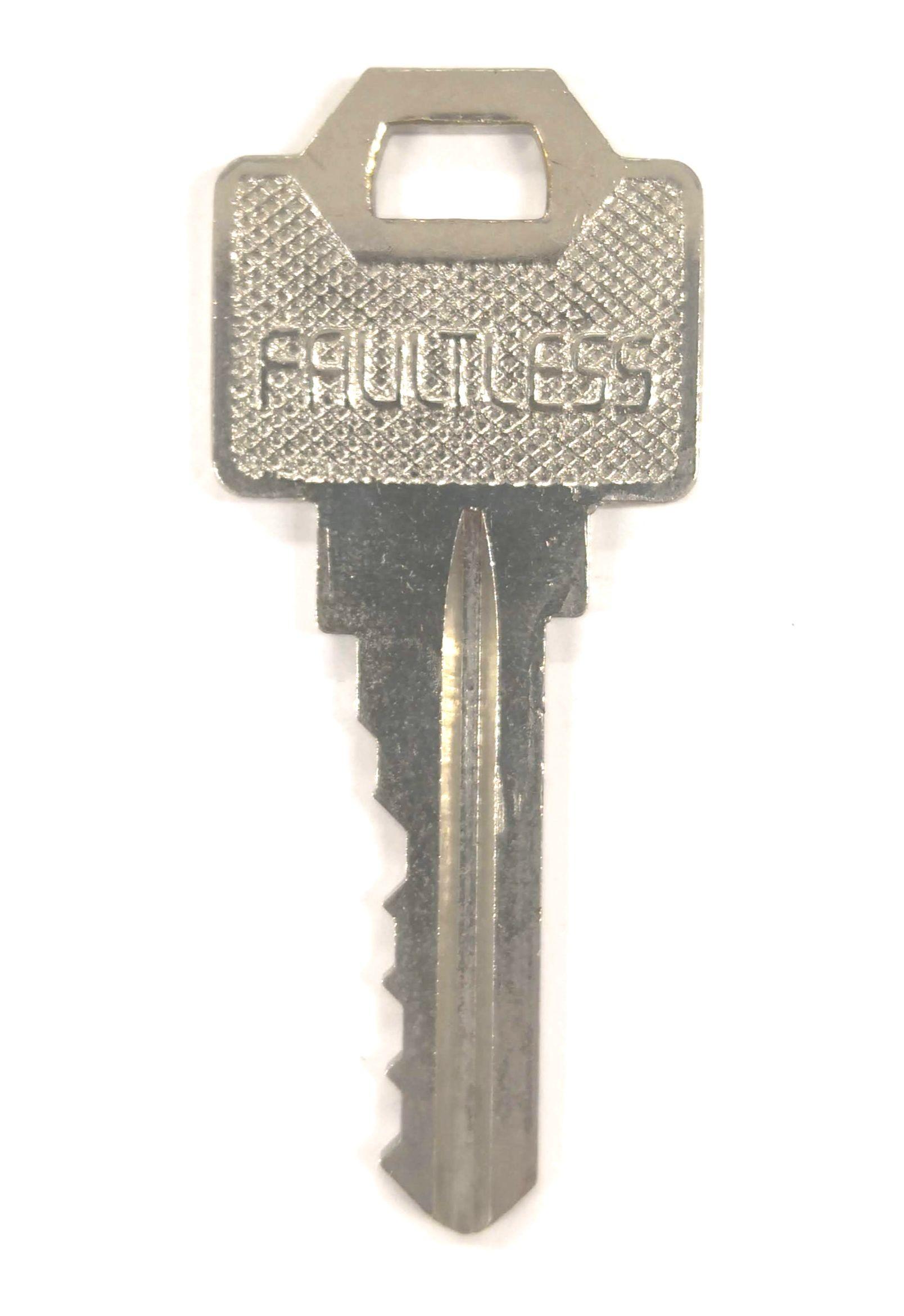 FAULTLESS(フォートレス)ギザギザ鍵