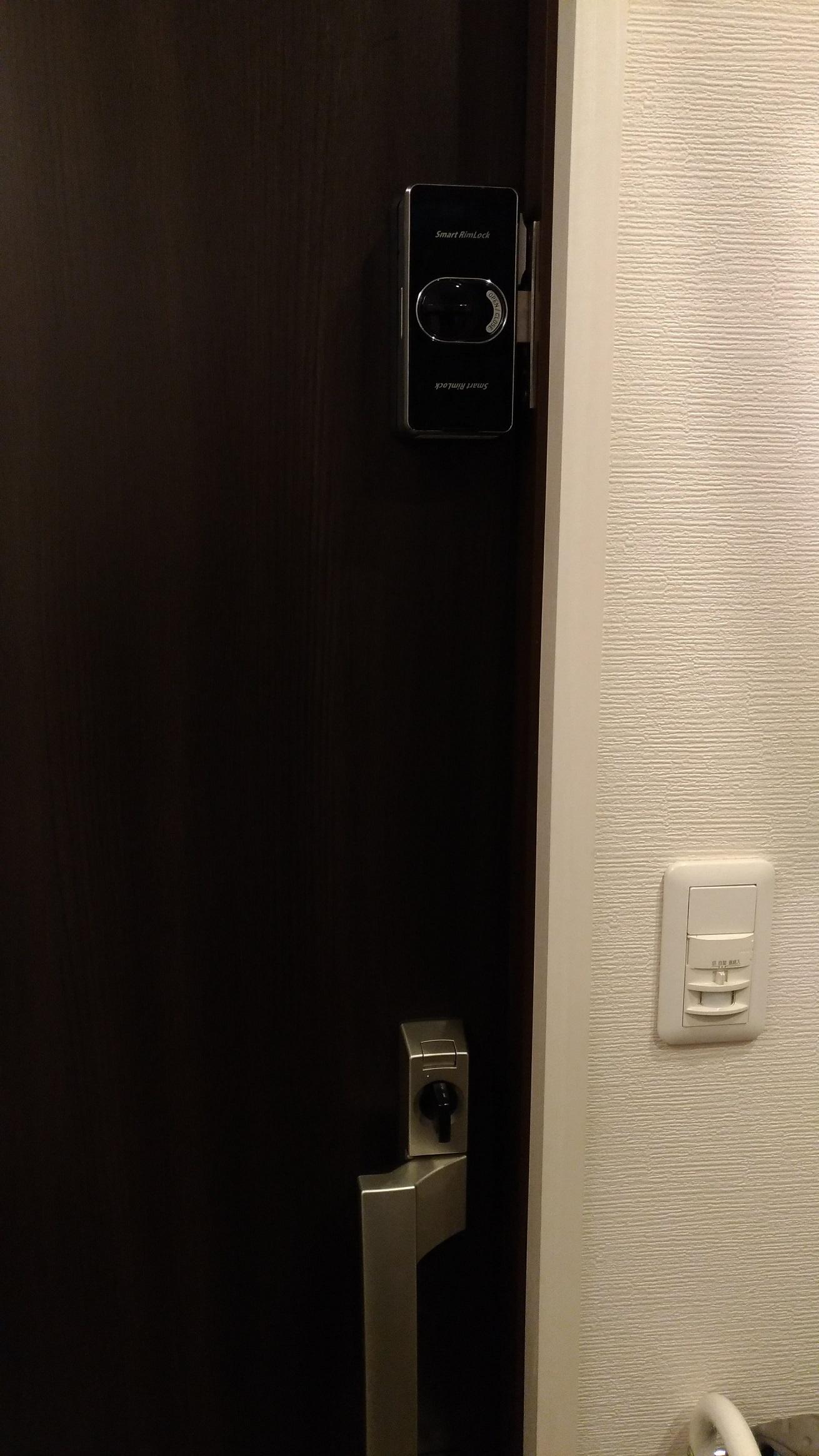 自動施錠と手動施錠を選べます。
