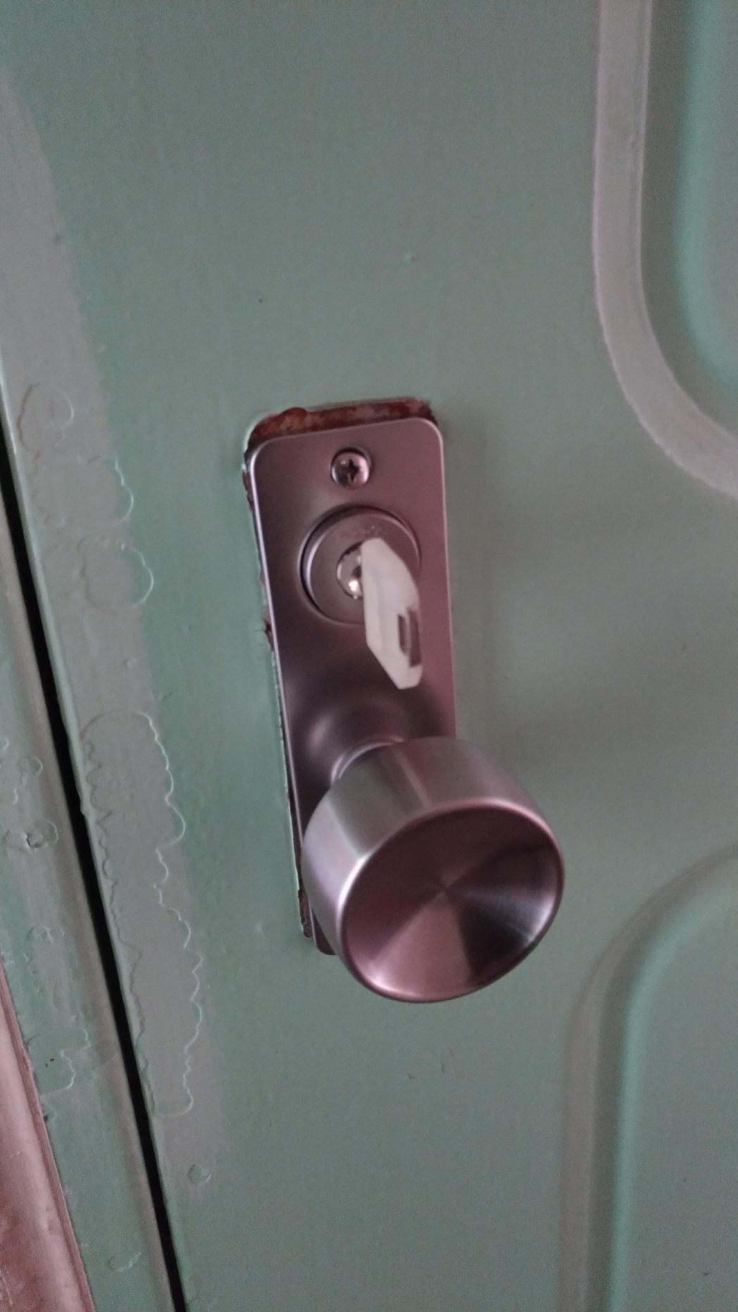追加の合鍵のキーキャップは白をお選びいただきました。
