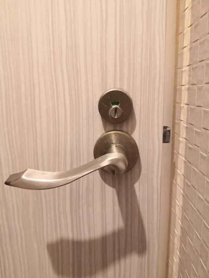 トイレ既設表示錠