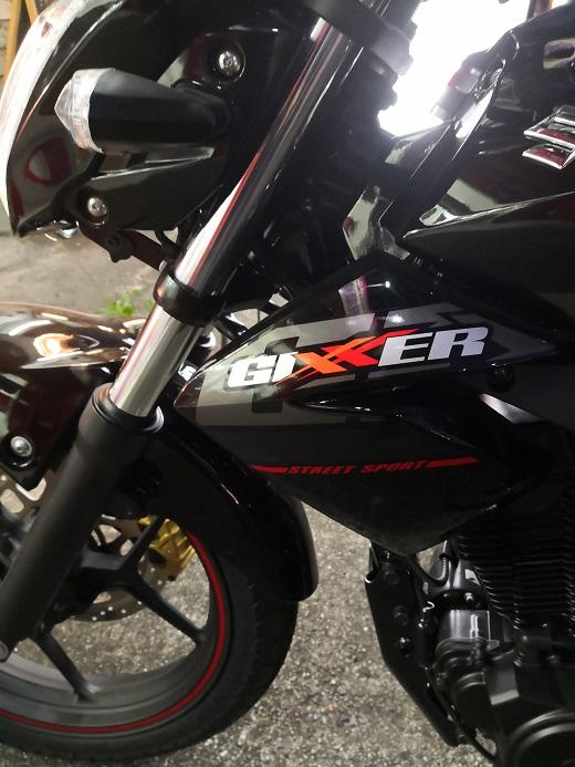 ジクサー(Gixxer、GSX-150)