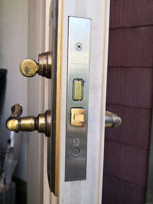 主錠の刻印は「セキスイハウス」
