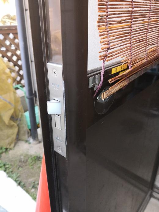 錠ケース本体は「MIWA 145A」に交換