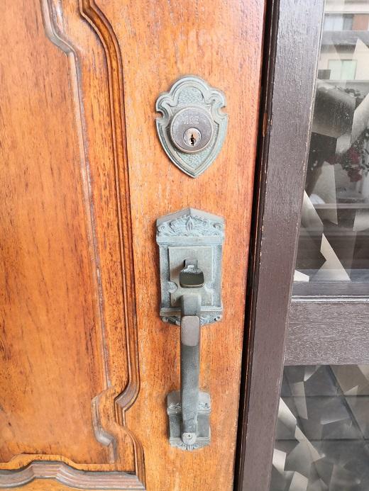 チューブラー錠のワンロックです。