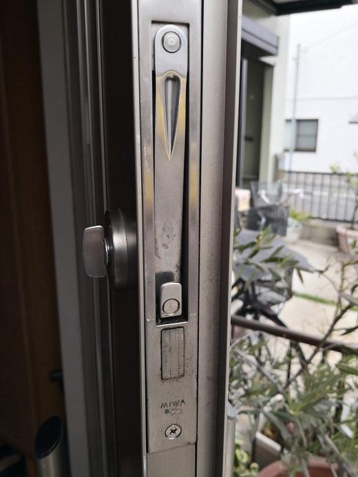 ガードロック錠「MIWA GAE」