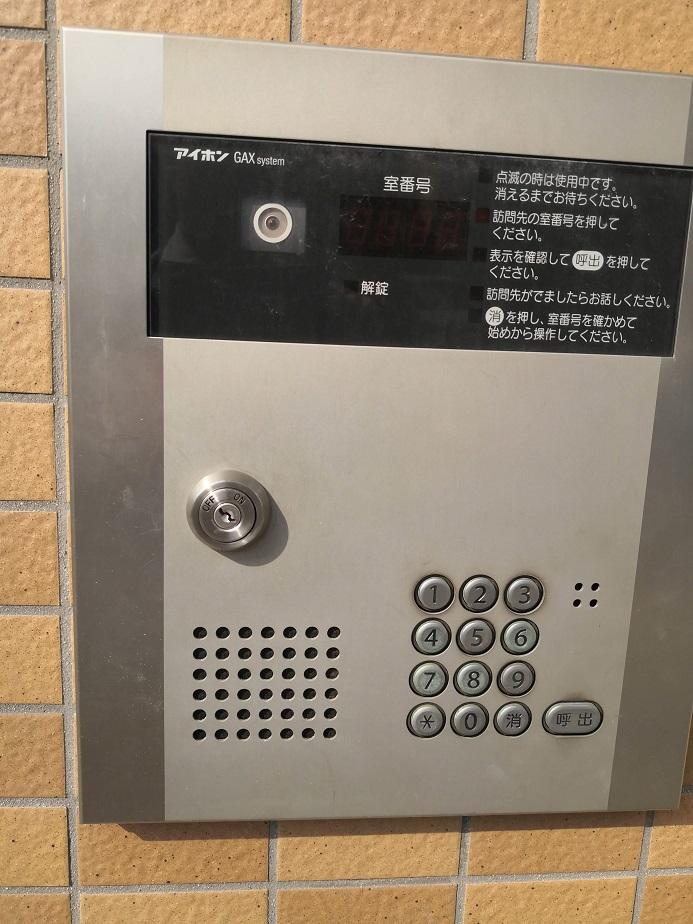 アイホン集合玄関機「GAX system」