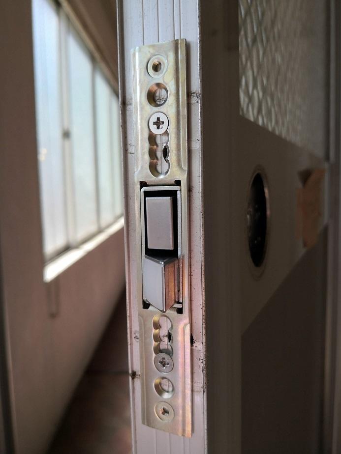 新しくつける「MIWA 145HMD-1LSF」は様々なビスピッチに対応できる万能タイプです。