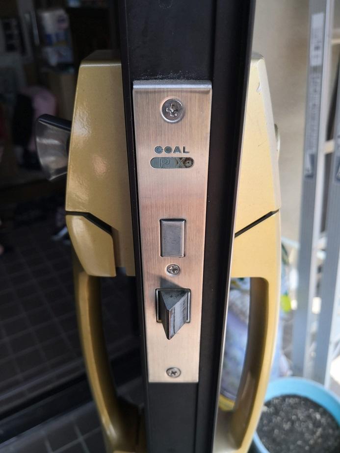 主錠ケース「GOAL PX」ラッチが随分劣化しています。