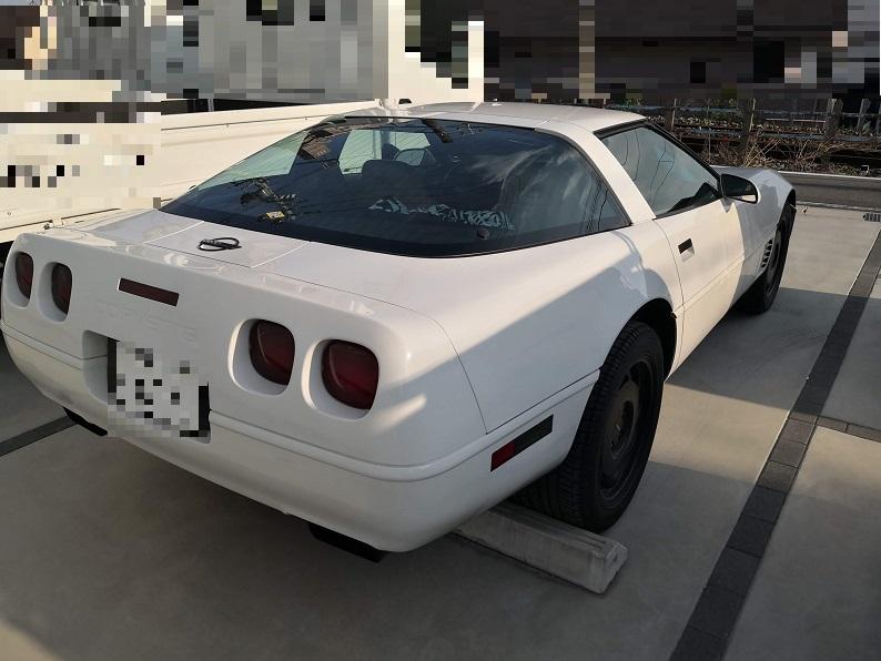 1995年式 シボレー・コルベット