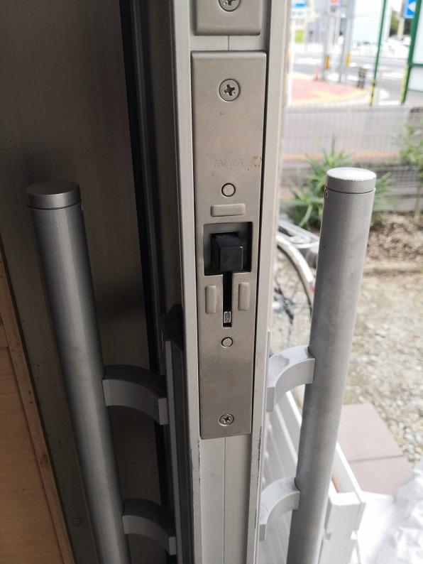 ラッチング機構付き空錠 ラッチ錠 MIWA WD8894A-00