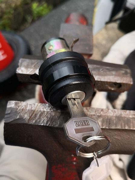 使用ブランクキーはアルファ用H190