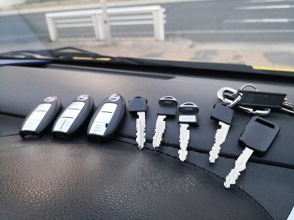 日産車のスマートキーは適合さえすれば中古でも問題なく登録可能です。