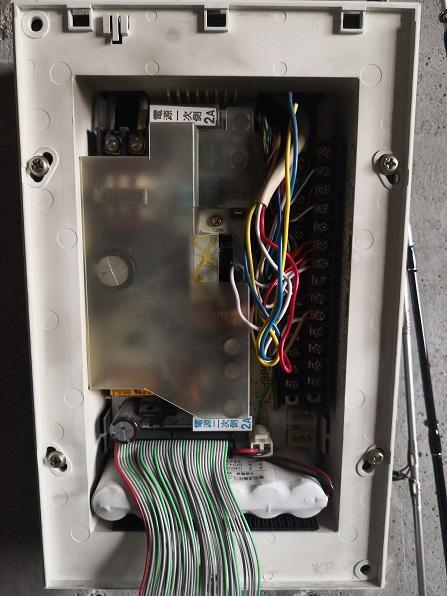 2回線用電気錠制御盤
