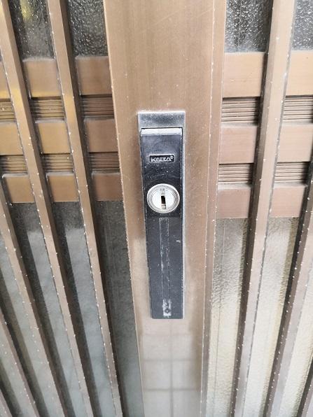 既設錠は Kaba4800