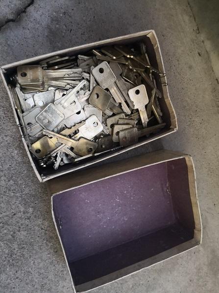 刻みの高さが違う229本の鍵で構成されたトライアウトキー