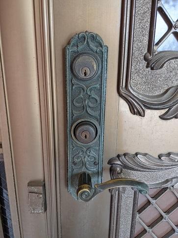 ナショナル住宅用レバーハンドル装飾錠