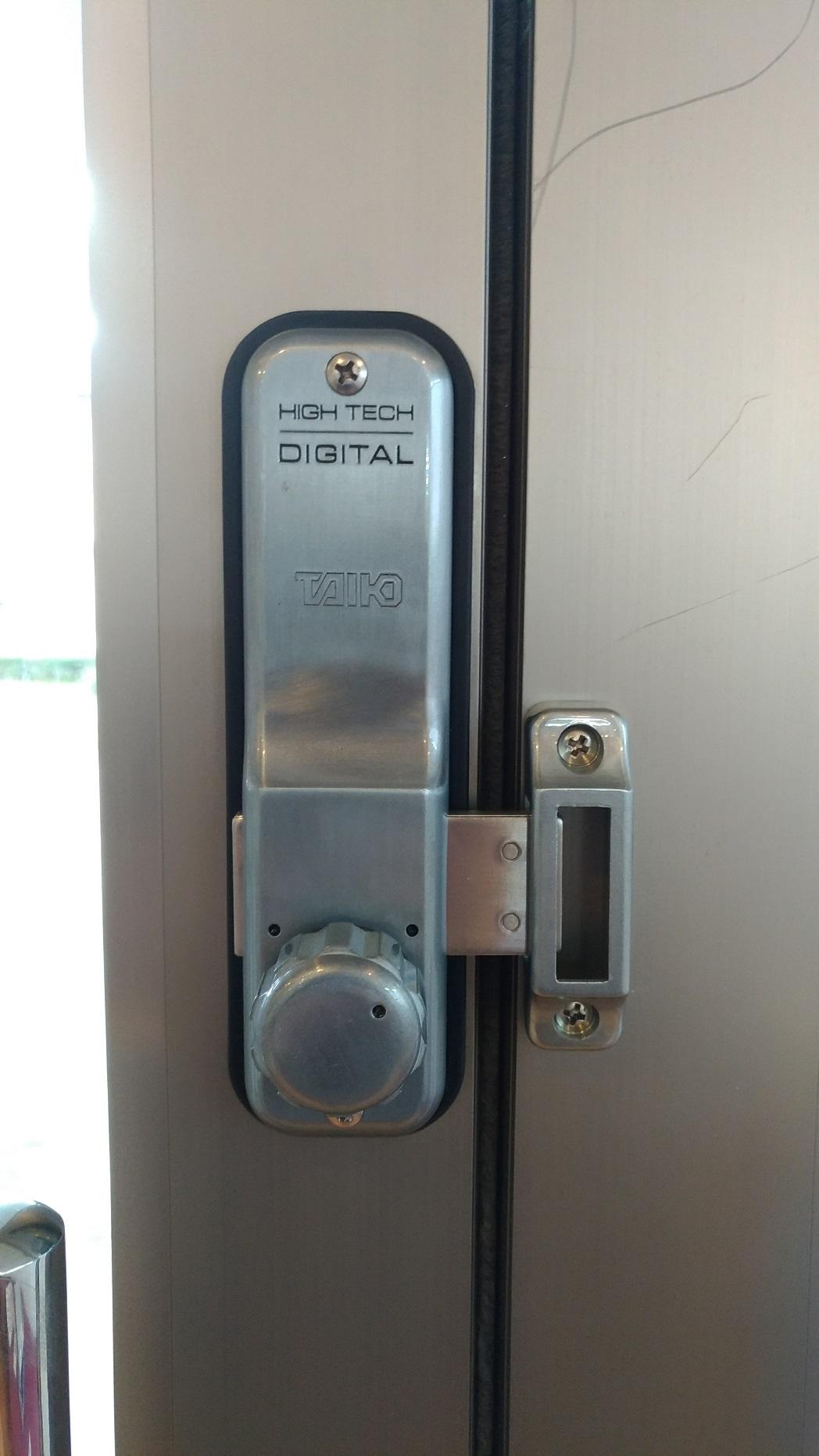 TAIKO (タイコー) デジタルロック  5100 暗証番号錠 開きドア用