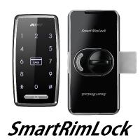 FUKI社 「スマートリムロック」 タッチパネル&非接触IC(電池式)補助錠